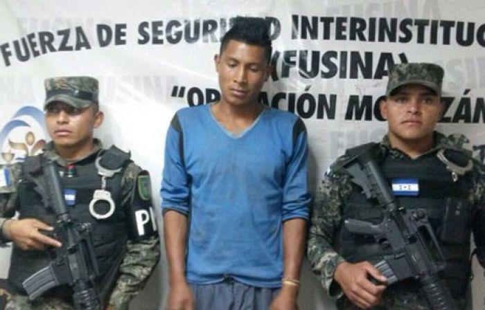 Capturan a miembro de la mara 18 que amenazaba a habitantes de Las Torres
