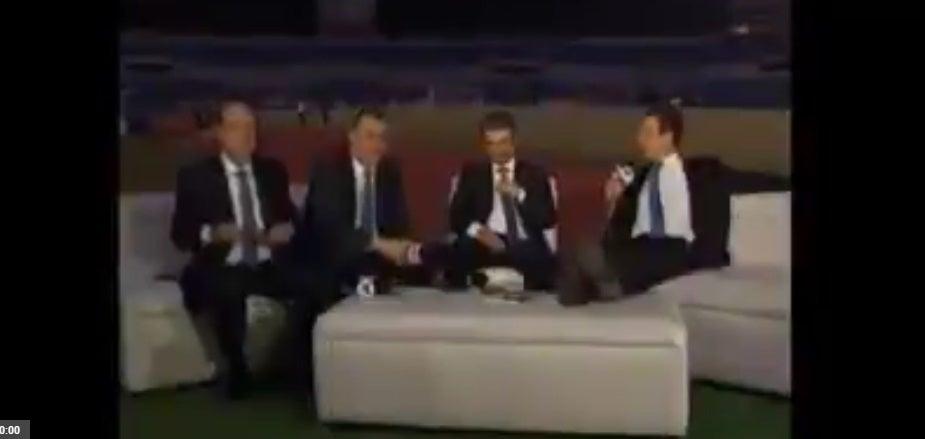 Error técnico capta fuerte comentario de Nasralla: «No le para bola nadie al hijo de p…»