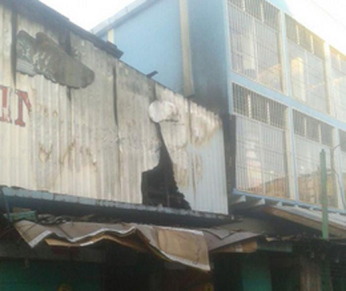 Investigan las causas del incendio en la Ceiba