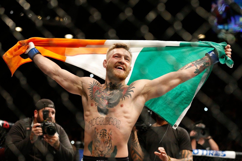 Conor McGregor peleador de la UFC, reta a Floyd Mayweather