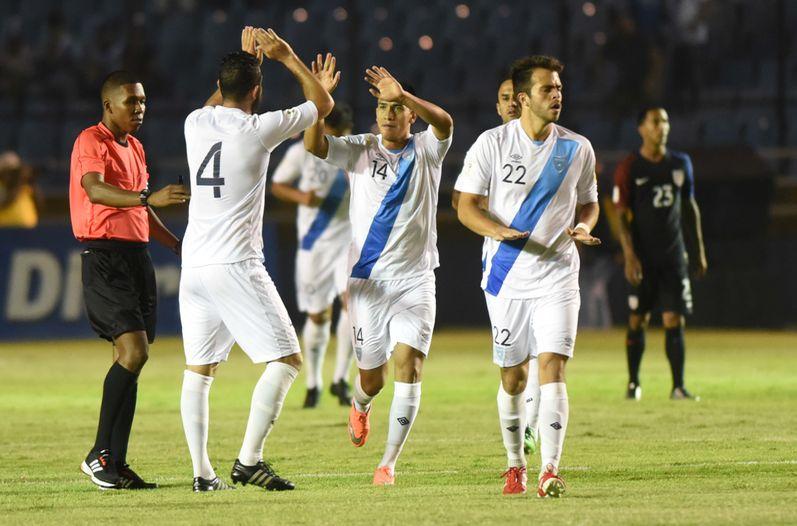 Guatemala sorprende a Estados Unidos y le saca valioso resultado