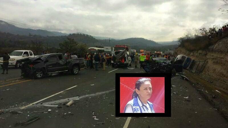 La tragedia persiguió a la paramédico Rosa Elena en choque de Támara