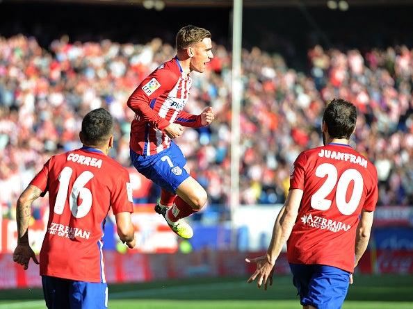 Antoine Griezmann le da el triunfo al Atlético de Madrid sobre Rayo Vallecano
