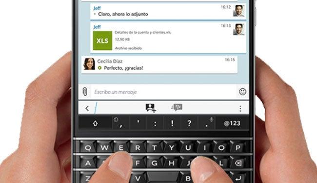 BlackBerry Messenger muestra que puede ser alternativa a WhatsApp con la última actualización