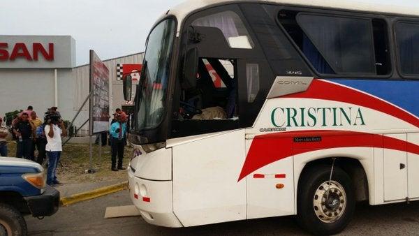 Dos mujeres asesinan a conductor de empresa de transporte Cristina en La Ceiba
