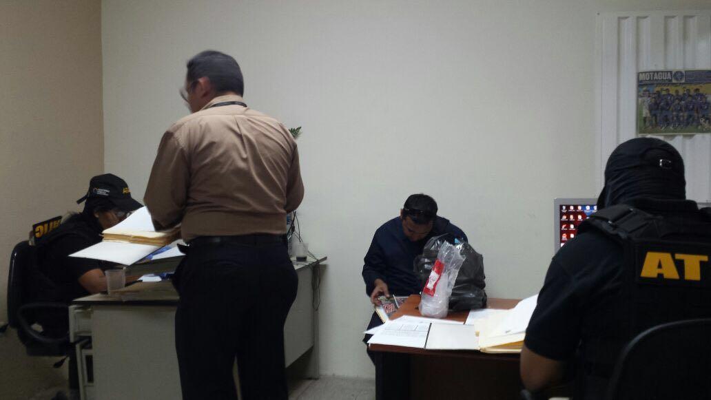 Autoridades intervienen inspectoría de Secretaría de Seguridad