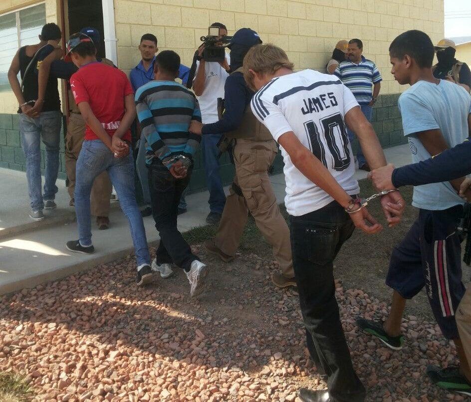 "Detienen a miembros de la banda ""La Mafia"" en Tegucigalpa"