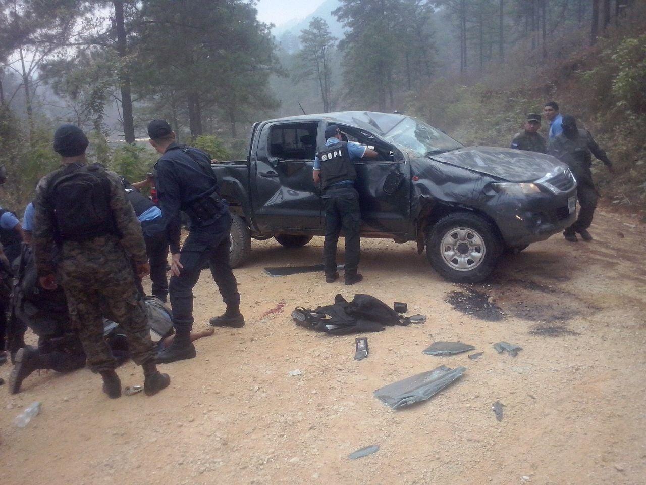 Agente DPI muere en accidente luego de regresar de operativo en Olancho