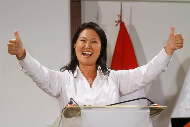 Keiko Fujimori gana, pero irá a segunda vuelta electoral
