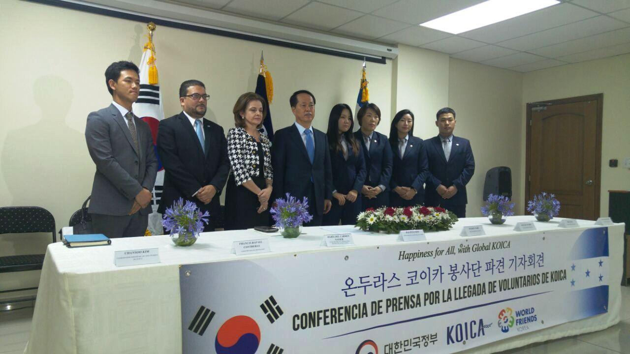 Voluntarios Coreanos darán asistencia en área de la salud en Honduras