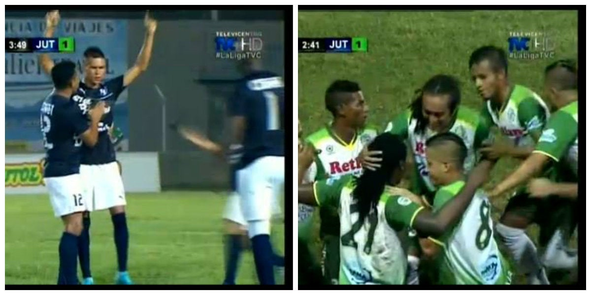 Honduras Progreso y Juticalpa firman un empatan en el estadio Micheletti