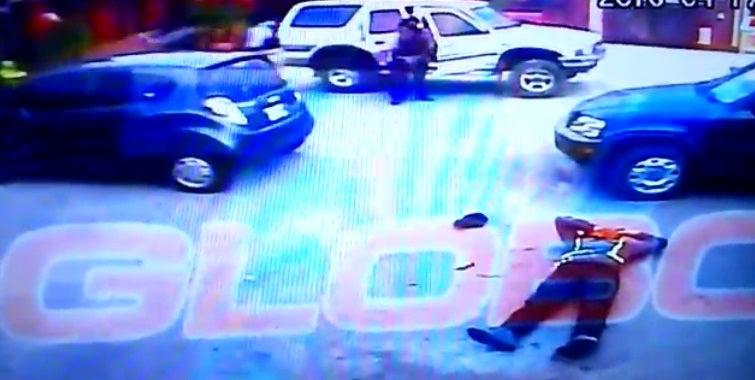 Escalofriante vídeo muestra tiroteo en Lomas de Toncontín