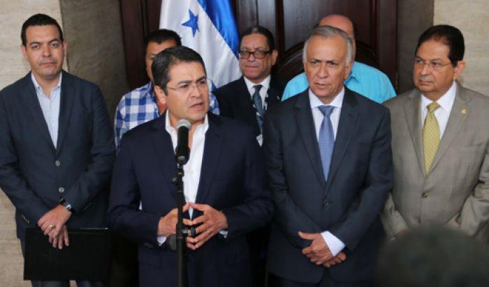 Presidente Hernández pide al Legislativo aprobar Ley de Inspección Laboral