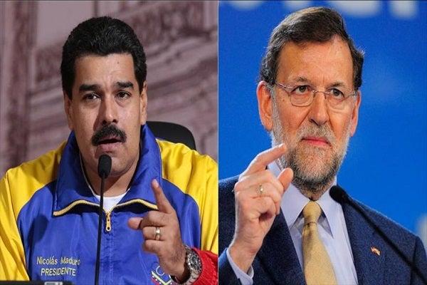 Maduro insulta al Jefe de gobierno español Mariano Rajoy, lo que provoca impasse diplomático