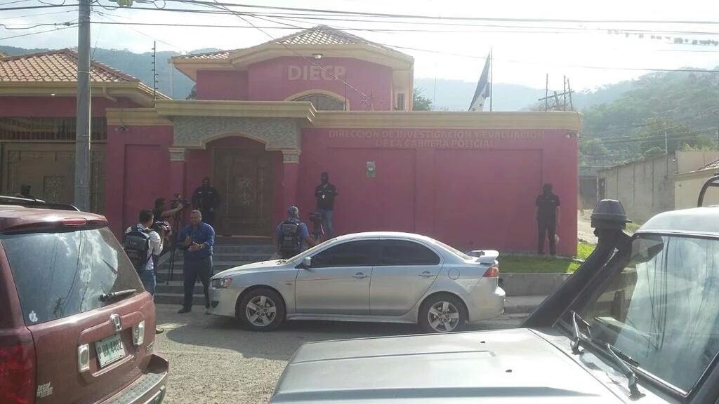 Por caso Arístides González intervienen DIECP en Tegucigalpa y SPS