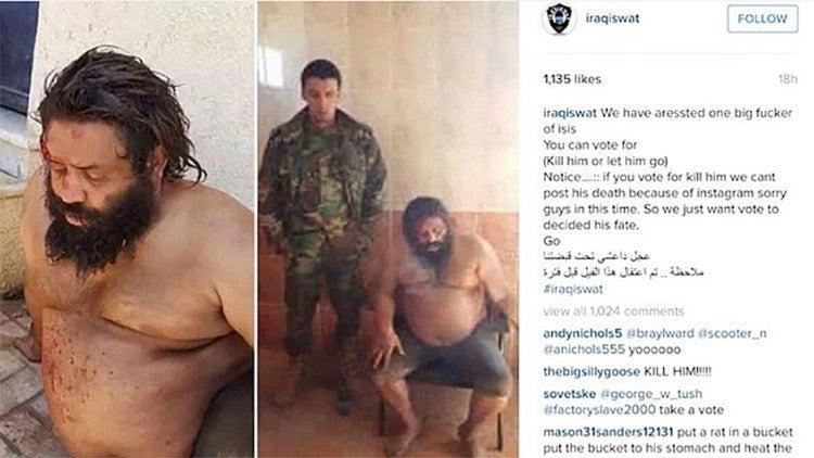 Instagram pide a usuarios que voten para decidir suerte de yihadistas presos