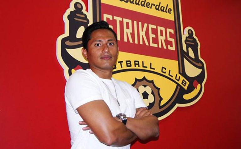 Ramón Núñez en el 11 de la semana de la NASL de Estados Unidos