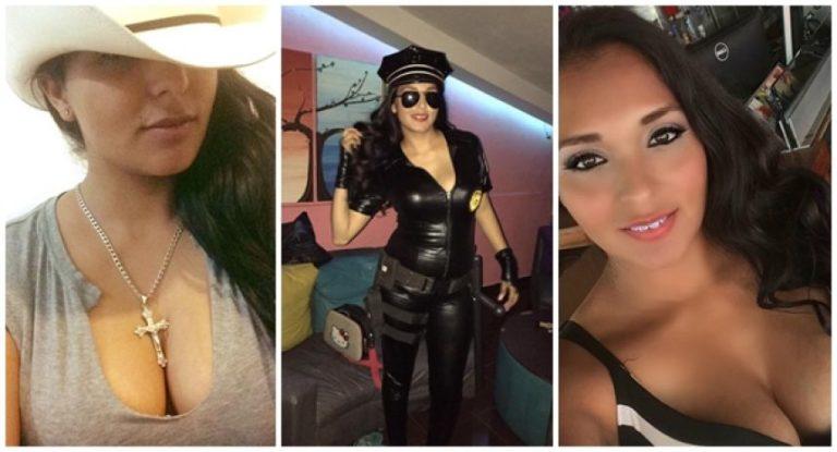 Esposo deja a «policía topless» tras difusión de fotos