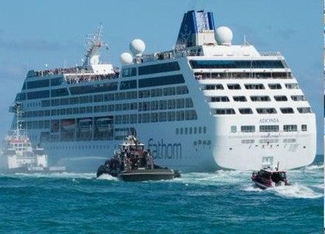 Llega a Cuba el primer crucero de EE.UU. en más de 50 años