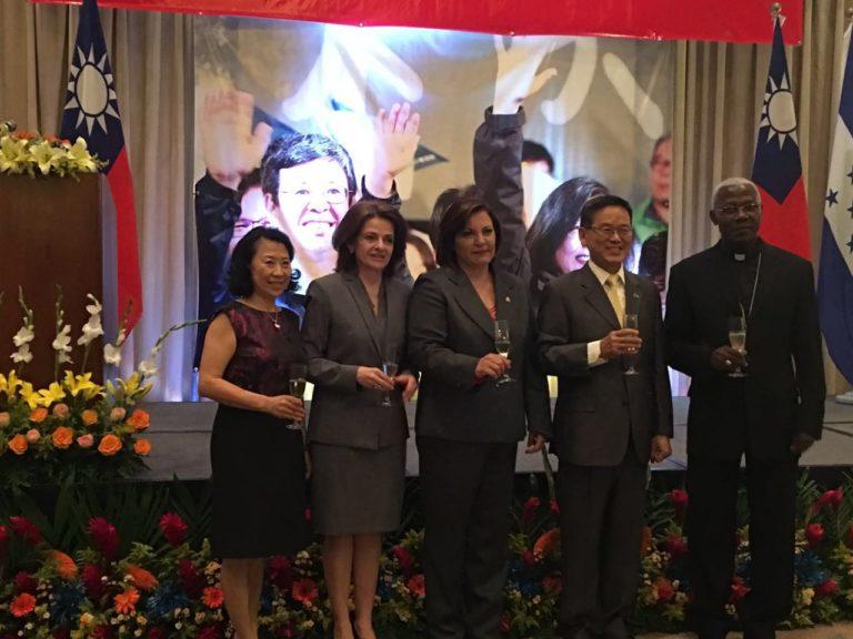 Honduras: Embajada de Taiwán celebra toma de posesión de Tsai Ing -wen