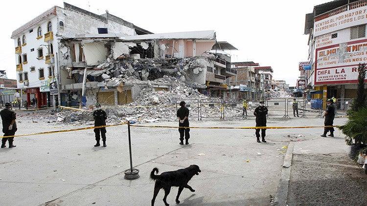Países latinos que pueden sufrir terremotos de magnitud superior a 8