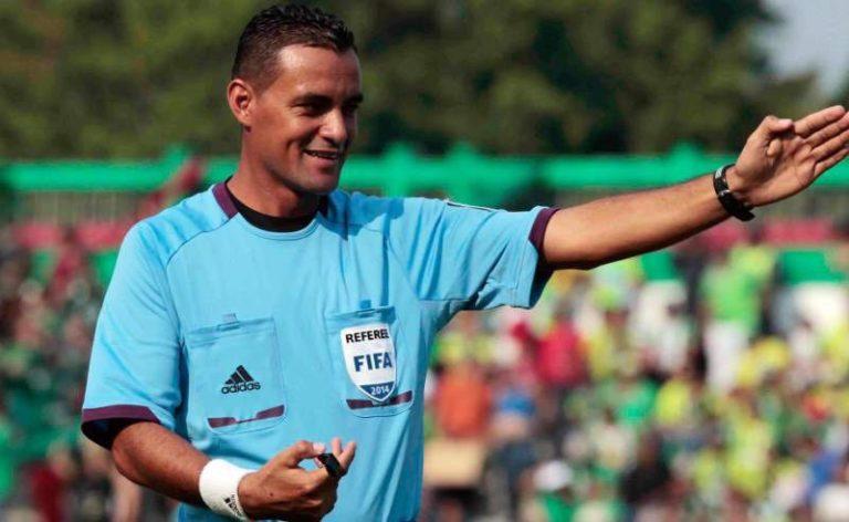 Árbitro Melvin Matamoros sufre accidente automovilístico en Morocelí, El Paraíso