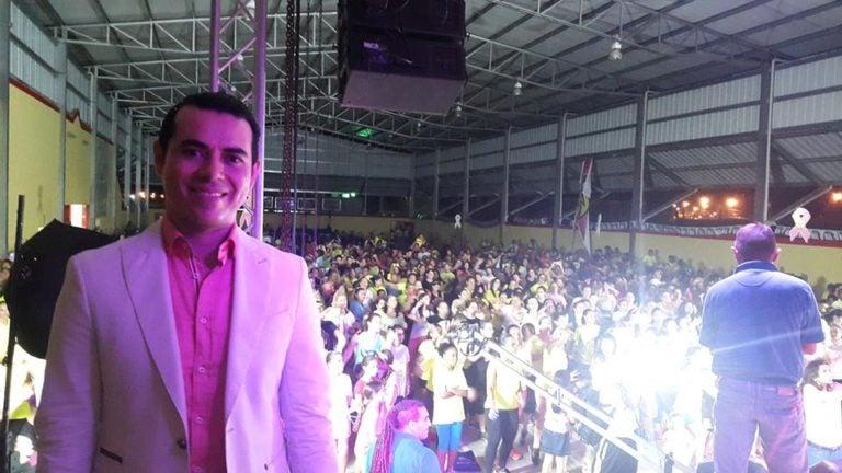 César Quintanilla explica sobre cheque de 40 mil lempiras a su nombre