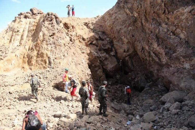 Una semana ha pasado, y aún no se encuentran dos mineros atrapados en La Cuculmeca