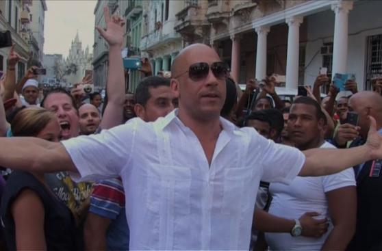 El más rápido y furioso, Vin Diesel, en Cuba