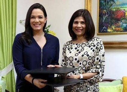 Carmen Boquín, nueva embajadora de Marca Honduras