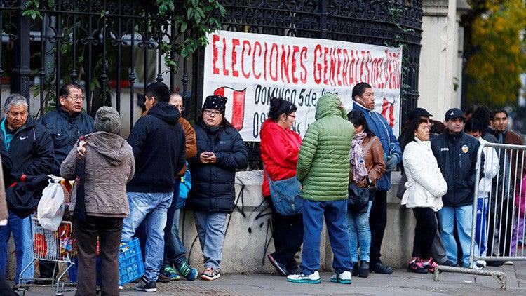 Perú elige a su próximo presidente en un posible final de fotografía