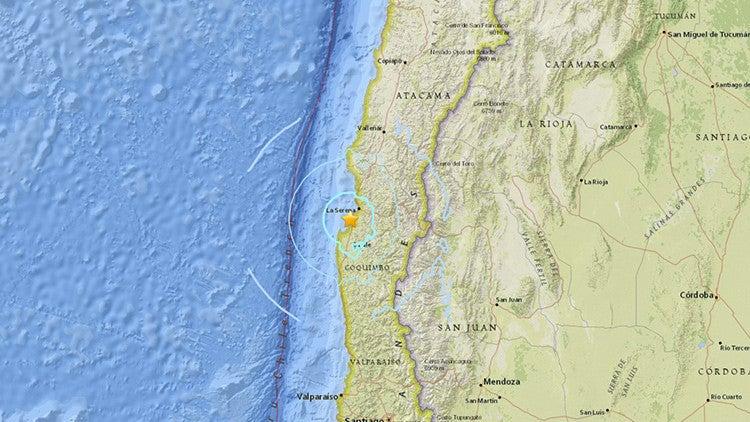 Sismo de magnitud 5,1 sacude dos regiones al norte de Chile