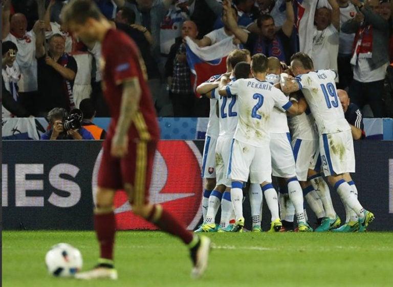 Vladimir Weiss y Marek Hamsik le dieron el primer triunfo a Eslovaquia en una Eurocopa