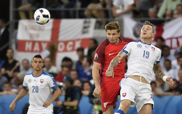 Inglaterra y Eslovaquia terminan con un empate en la Eurocopa