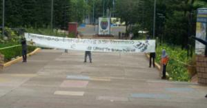 Estudiantes que mantienen las tomas de la UNAH, seran responsabilizados por los daños en la misma