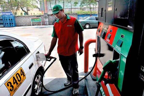 Imparables los incrementos  a los combustibles