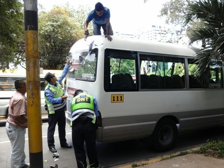 Retiran polarizados a unidades de transporte urbano en Tegucigalpa