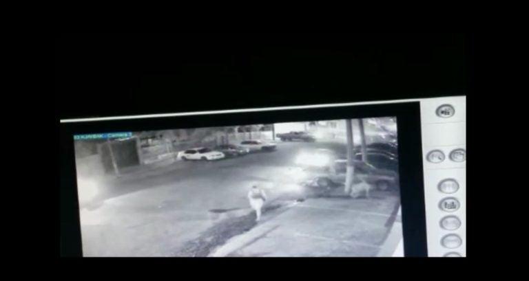 Cámaras muestran masacre en las afueras de karaoke en SPS