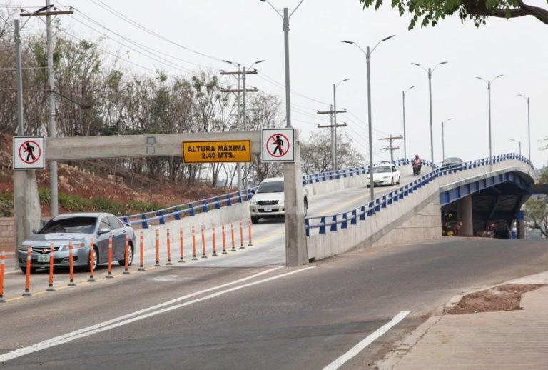 Tegucigalpa: no hay paso por el puente Prado-Humulla
