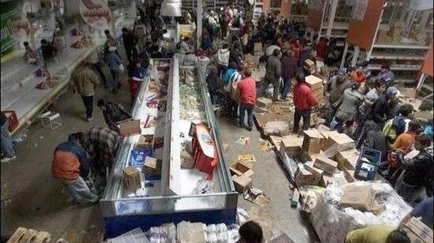 Epidemia de saqueos y robos  azotan a Venezuela