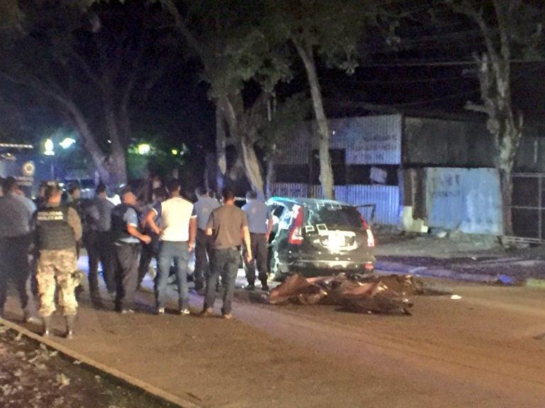 Acribillan a cinco personas en Barrio Barandillas de SPS