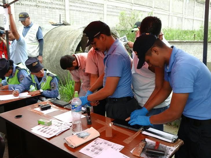 Realizan registro a trabajadores del transporte en Tegucigalpa