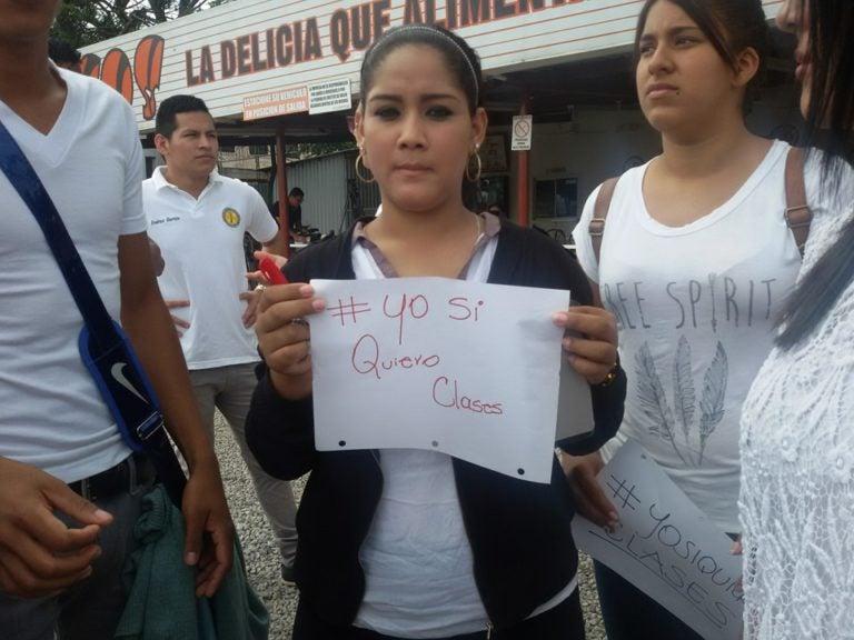 «Camisetas Blancas», nuevos protagonistas en crisis de UNAH