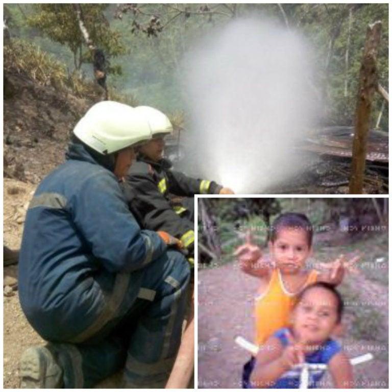 Mueren dos hermanitos en voraz incendio en Villanueva