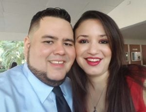 Bryan Duarte y Wendy Motiño.