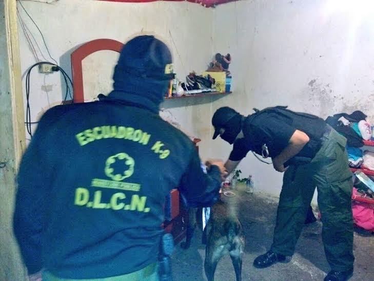 Desarticulan estructuras del narcotráfico en Comayagua y Choluteca
