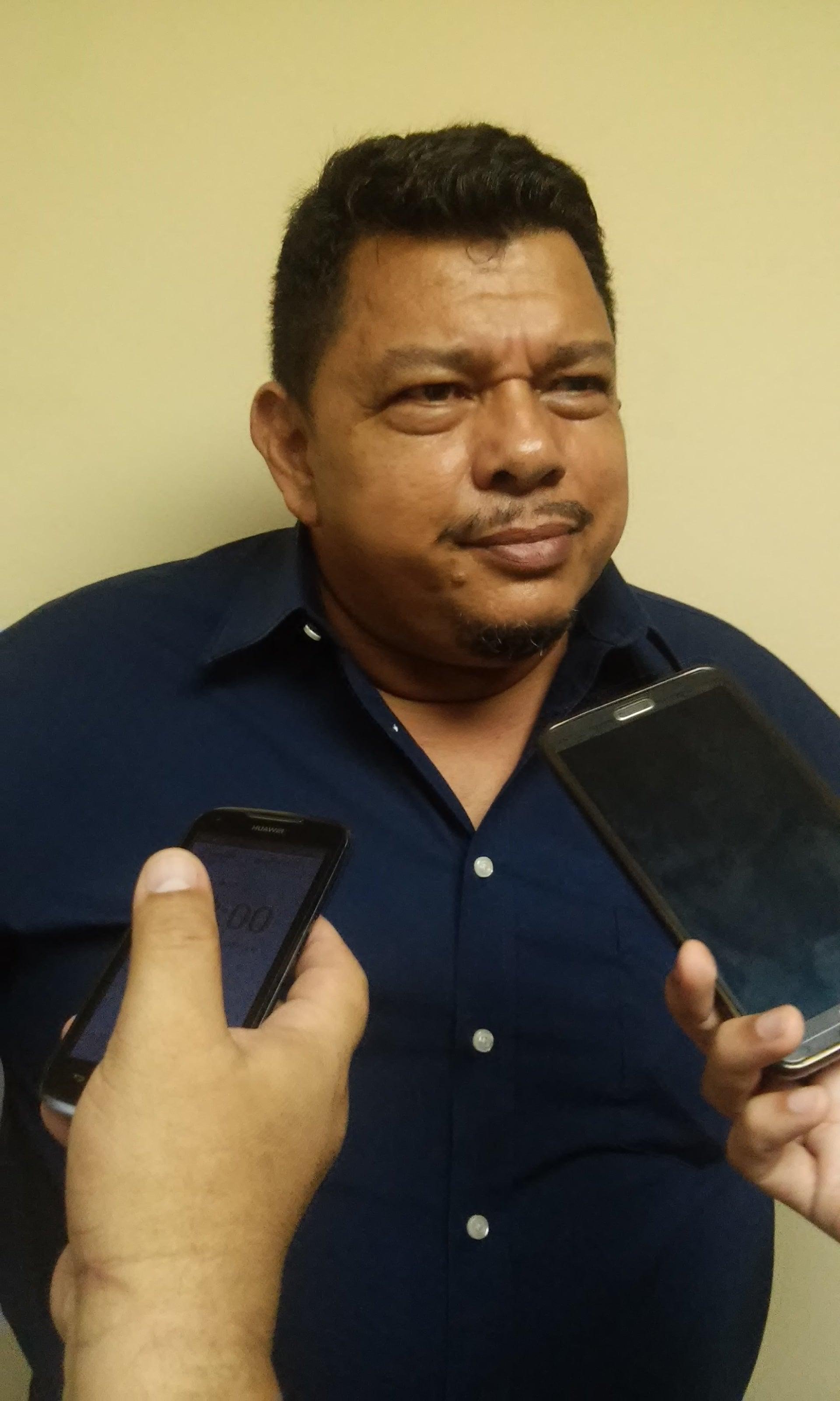 Samuel Garcia, presidente del Alianza Becerra.