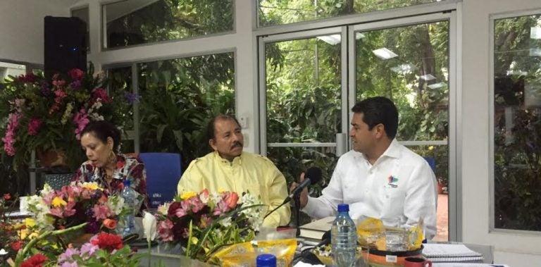 JOH busca con sus homólogos de Costa Rica y Nicaragua una integración efectiva
