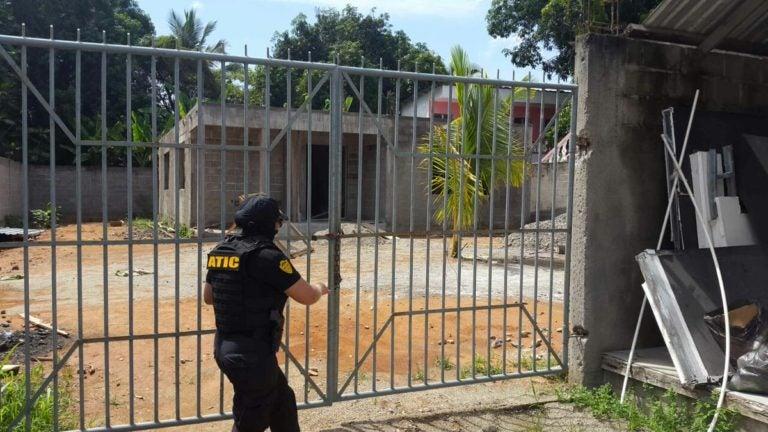 ATIC asegura local donde funciona iglesia evangélica en Tocoa