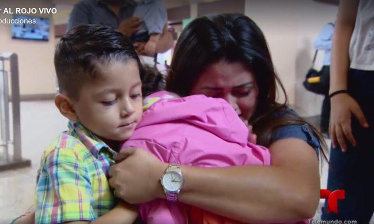 Drama vivió madre de niña hondureña abandonada por «coyote»